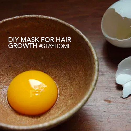 DIY powermask for the hair